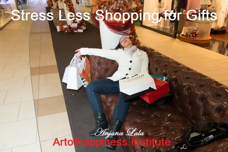 stress less shopping holidays